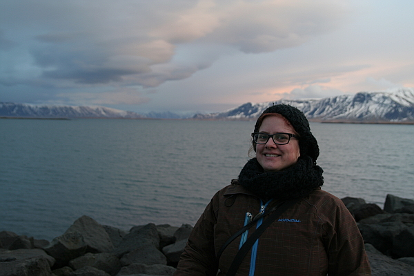 Me by the coast of Reykjavik.